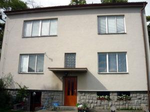 Rodinný dům v Týně nad Vltavou, pro který jsme zpracovali projekt zateplení Nová zelená úsporám