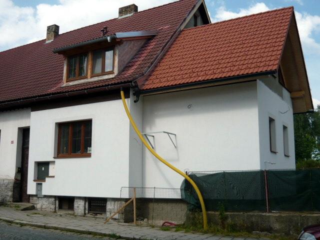 Mimořádně úsporná opatření byla realizována na rodinném domě ve Volarech.
