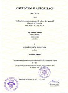 Autorizace ČKAIT je nutnou podmínkou pro zpracovávání projektů zateplení.