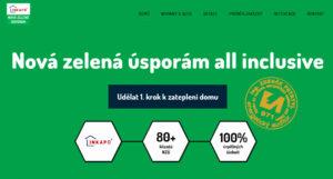 4. července 2016 jsme spustili nový microsite o Nové zelené úsporám