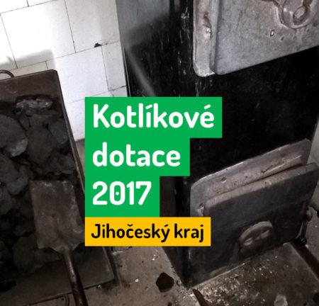 Kotlíková dotace Jihočeský kraj 2017 - informace
