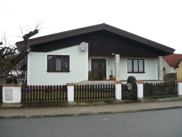 Rodinný dům, který bude zateplen minerálním vláknem o tloušťce 160 mm.