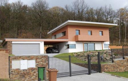 Dotace na pasivní rodinný dům - příklad pasivního rodinného domu