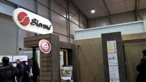 Výstavní stánek výrobce oken a dveří pro pasivní domy - firmy Slavona