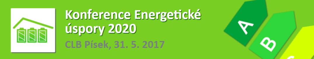 Konference Energetické úspory 2020, Písek, 31. 5. 2017