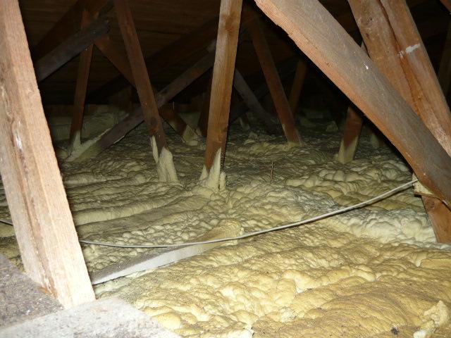 Ukázka zateplení podlahy na půdě
